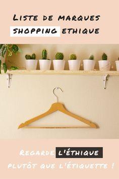 Liste de marques de mode éthique pour un shopping responsable -