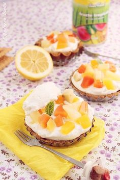 'Tropical Fruits Tart'