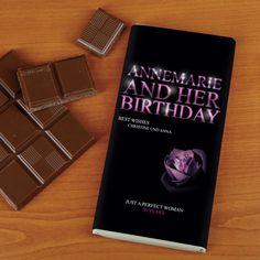 Geburtstagsschokolade for her mit Wunschnamen