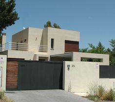 #Exterior #contemporaneo #casas via @planreforma #fachadadiseñado por ambarq - Arquitecto