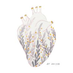 the grey color is one of my favourite color and I feel like the combination between grey and yellow is really interesting Watercolor Postcard, Watercolor Heart, My Favorite Color, My Favorite Things, Gray Color, Yellow, Grey, How To Make, Collection