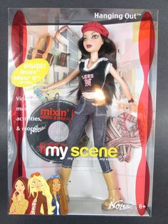 My Scene HANGING OUT NOLEE Barbie Doll B9879 2003 #mattel