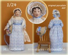 1/24 scale, commissioned doll: Jane Austen