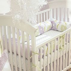 I'm thinking lavender and green for the nursery