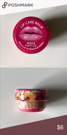 Travel size lip balm Lip balm is new and has not been opened. It has the same consistency has body shop's lip balm. Lip balm is from the face shop ( Korean brand) Makeup Lip Balm & Gloss