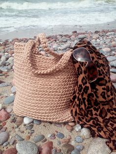 Knitted Bags/ Rope Bags/ Handmade Bags/ Summer Bag from NataNatastudio by DaWanda.com