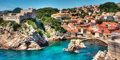 Dubrovnik Harbor by Samantha T. Photography Old Fortress in Dubrovnik Harbor_ Croatia Travel Destinations Bucket Lists, Best Honeymoon Destinations, Travel Tips, Croatia Destinations, Cheap Honeymoon, Romantic Destinations, Honeymoon Ideas, Croatia Travel, Cheap European Cities