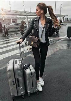 Leather jacket  street style #luxurymoda
