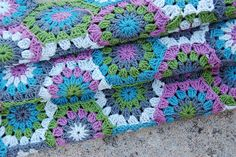 hexagon blanket | Flickr - Photo Sharing!