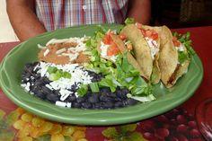 Taco Platter, Santiago's,  Bisbee, Arizona