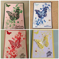 Schmetterlingskarte Stampin Up!