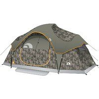 On sale Igloo Sportsman Twin Lakes II 2-Room Family Dome Tent (6-  sc 1 st  Pinterest & On sale Coleman Hampton Family Cabin Tent (9-Person) Black friday ...