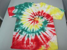 Short Sleeve Tshirt Youth Xtra Large Tie Dyed Red by AlbanyTieDye, $18.00