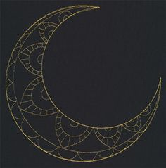 crescent moon designs - Google Search