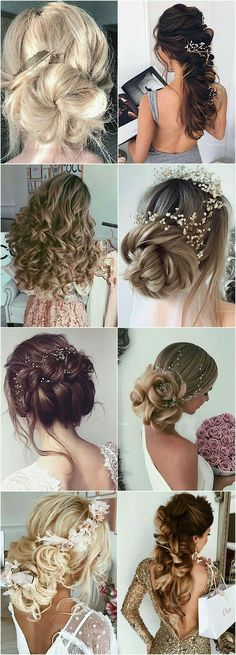 Best Wedding Hairstyle With Mid Length Hair Best Wedding Hairstyles, Elegant Hairstyles, Formal Hairstyles, Bride Hairstyles, Down Hairstyles, Hairstyles Videos, Hairdo Wedding, Wedding Hair Inspiration, Mid Length Hair
