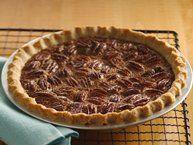 Decadent Pecan Pie (lighter recipe) recipe from Betty Crocker