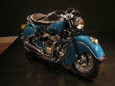 1940s Indian Chief Motorcycle, via the Cincinnati Art Museum