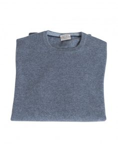 Blue/Grey cashmere sweater