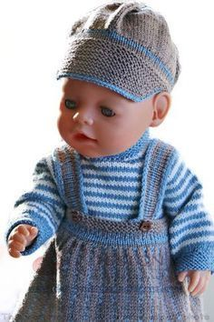 233 Best Doll Clothes Images Baby Knitting Crochet Baby Doll