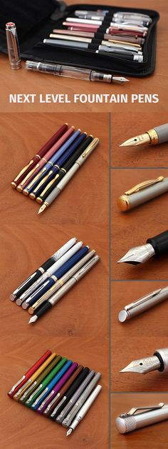 What was your first fountain pen? Chances are, it was a bare-bones gateway pen made of cheerful plastic. These are perfect for learning how to use fountain pens, but once you're comfortable, the expansive world of mid-range fountain pens awaits. These pens give you access to a wide variety of styles, higher-quality materials and construction, and specialized designs like pocket sizing and built-in filling systems.