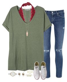 """""""birthday / christmas haul in the des."""" by sarahc01 ❤ liked on Polyvore featuring Citizens of Humanity, Free People, Converse, Kendra Scott, Better Late Than Never, Skagen, Finn and Jennifer Meyer Jewelry"""
