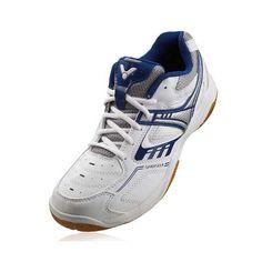 Victor F Badminton Shoes (White/Royal Blue) Yonex Badminton Shoes, Shoes Online, Royal Blue, Sneakers, Stuff To Buy, Free Shipping, Fashion, Tennis, Moda