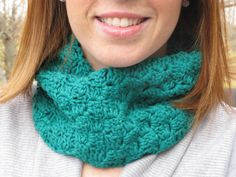 Block Cowl - ImagiKnitsStudio was featured in a very turquoise inspired treasury.