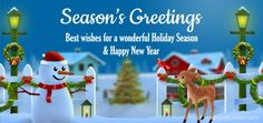 Season's Greetings & Happy Holidays greetings, wishes, ecard, message for your friends & family #seasonsgreetings #happyholidays #merrychristmas