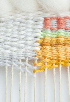 Weaving Technique || Dovetail Weaving Join