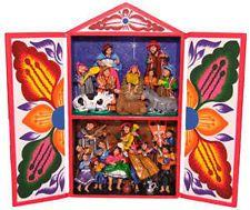 Retablo Ayacuchano Peruvian Nativity 30cm x 20cm Peru