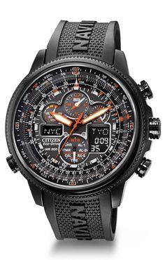 Citizen Eco-Drive Navihawk A-T JY8035-04E Atomic Timekeeping