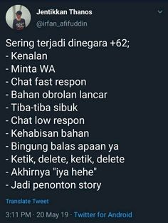 Quotes Lucu, Jokes Quotes, Me Quotes, Qoutes, Funny Quotes, Memes, About Twitter, Tweet Quotes, Poetry Quotes