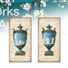 Find More Painting & Calligraphy Information about Still blue vase retro patterns Roman relief  Canvas Wall Art Home Decoration  living room bedroom  wall  Free shipping,High Quality wall decor angels,China wall decor poster Suppliers, Cheap decorative tile wall from WHAT ART on Aliexpress.com