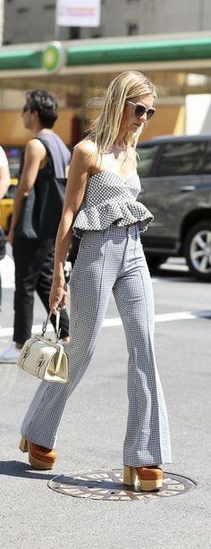 #street #style pattern print summer @wachabuy