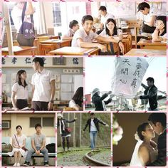 """Scenes from """"You are the Apple of my Eye"""""""