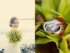 flowers and ring