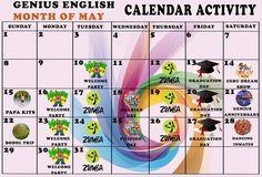 #geniusenglish #philippines #расписание  Новое расписание студенческой активности на май!