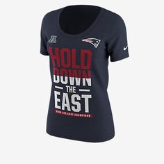 Women s Dallas Cowboys Nike Navy 2016 NFC East Division Champions T-Shirt 51707bbe3
