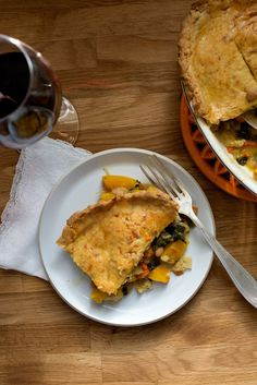 Pumpkin Pot Pie - Earthy Feast