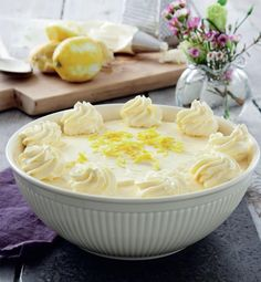 Citronfromage - lækker opskrift