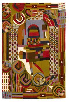 Hundertwasser Rug 6x4 £325