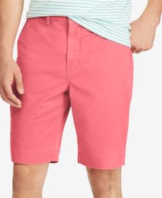 Polo Ralph Lauren Men's Stretch Classic-Fit Shorts - Nantucket Red 40