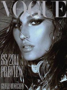 Giselle Bundchen for Vogue Italia