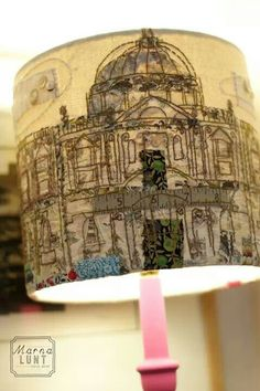 Hand crafted lamp shade- Marna Lunt