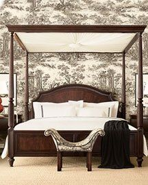 REpin from #TheCurtainExchange - Canopy Beds #Canopy #Beds
