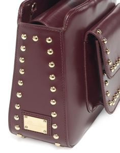 Odette Bag – Blumarine Fall Winter 2016/2017 • Medium-size leather Odette bag with detail of studs on the flap and sides.