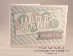 Celebration Duo, Happy Celebrations - Stampin'Up!