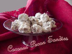Coconut Pecan Sandies - Live Creatively Inspired