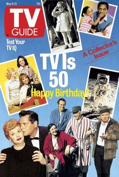 TV IS 50 - 1989 TV GUIDE