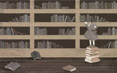 Illustration from The Book of Memory Gaps by Cecilia Ruiz - Nikki Giovanni's Wonderful Poems Celebrating Libraries and Librarians – Brain Pickings
